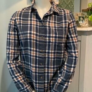 Madewell's Broadway and Broome Flannel Button Up